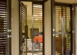 PVC Plantation Shutters Brilliant Window Blinds